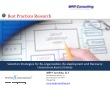 Selection Strategies Reorganization, Redeployment